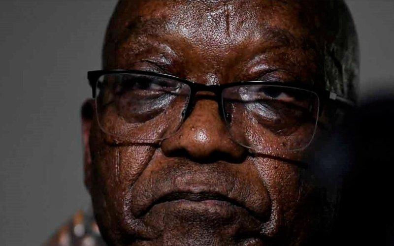 Former President Jacob Zuma in Police custody (News Central TV)