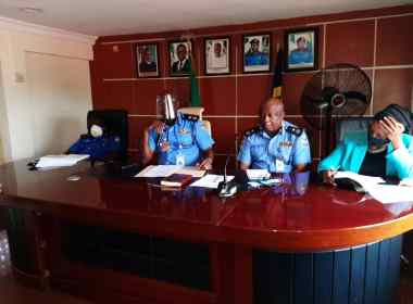 Lagos state police commissioner address top police bosses