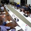 ECOWAS leaders meeting with members of the junta