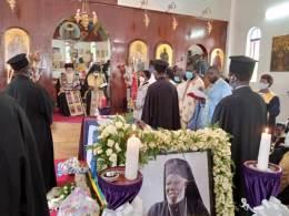 Orthodox Archbishop Jonah Lwanga Buried at St. Nicholas Cathedral (News Central TV)