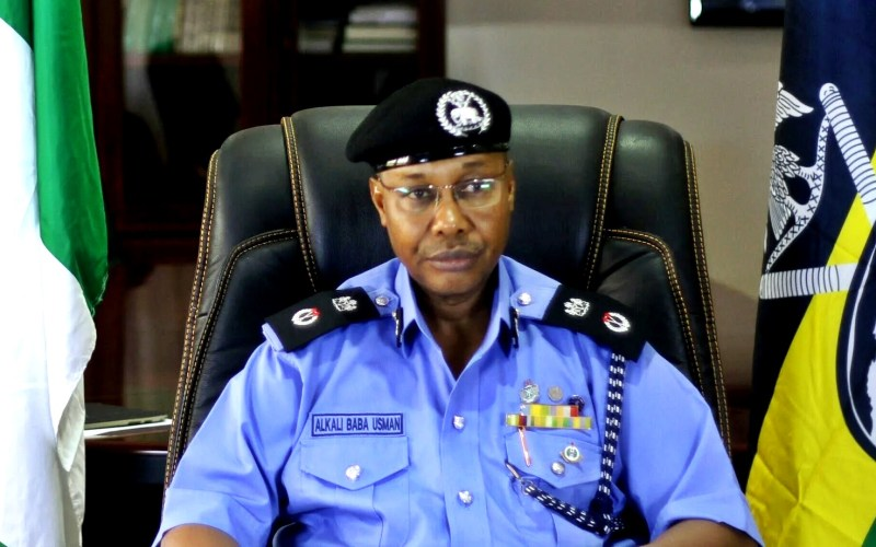 Current Acting Nigerian inspector-general of policeUsman Alkali Baba