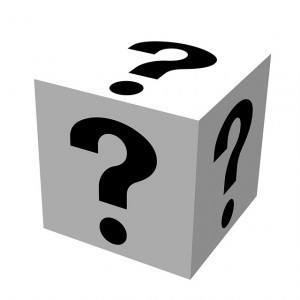 Question Cube - Public Domain