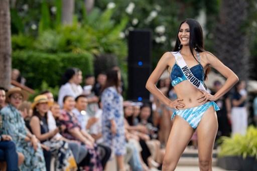 ชุดว่ายน้ำ มิสยูนิเวิร์สไทยแลนด์ 2020