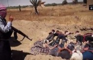 ISIS releases video of their biggest massacre - prisoners made to lay in mass graves before being shot dead