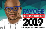Fayose floats presidential campaign