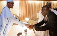 BREAKING: Buhari meets Tony Nwoye