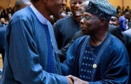 "Buhari , Obasanjo meet for the first time since ""letter bomb"""