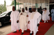 Ambode, Amosun absent as APC governors storm Katsina in four chattered planes ahead meeting with Buhari