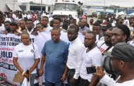 Entertainers celebrate Governor Wike's re-election