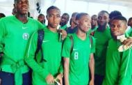 Golden Eaglets land in Brazil for FIFA U-17 World Cup