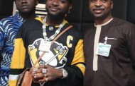 PHOTOS: Davido visits MC Oluomo's hotel in Oshodi