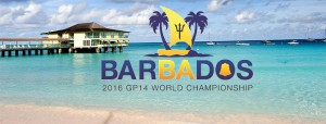 Barbados Yacht Club GP14 Worlds Logo