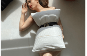 Bahubali Actress Tamannah Bhatia Goes Bold, Poses with a pillow Only