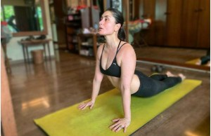Kareena Kapoor Khan Giving Us Major Fitness Goals With These Yoga Poses - SEE