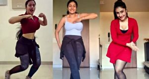 dhanashree-verma-dance-at-london-streets video