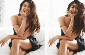 jacqueline fernandez looks so hot in black outfits