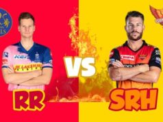Sunrisers Hyderabad vs Rajasthan Royals SCORE UPDATES