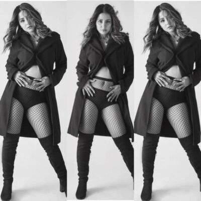 Naagin Star Hina Khan Shared Her Sultry Black and White Pictures