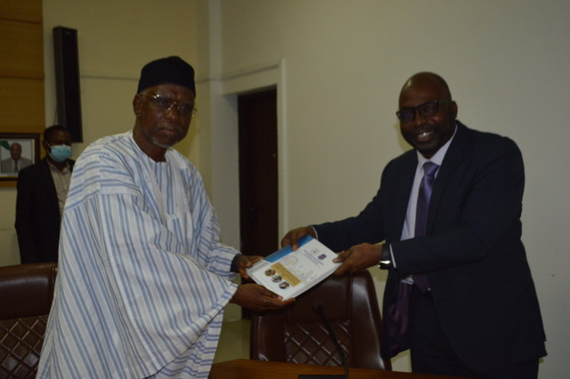 ICPC receives guest