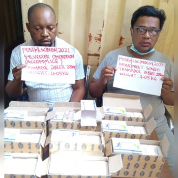NDLEA intercepts container load of Tramadol in Apapa port