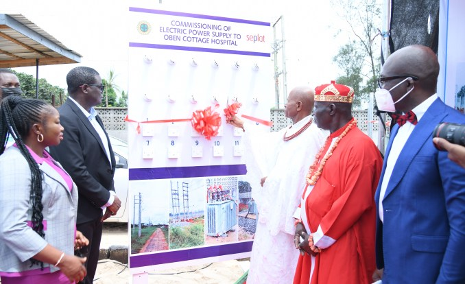 Seplat Energy commissions project for power supply to Oben Cottage Hospital  – Newsdiaryonline