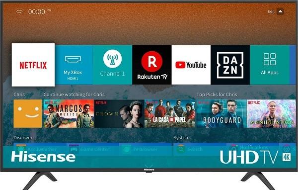Le migliori tv HISENSE-H50BE7000-Ultra-Design-Triple con prezzo inferiore a 500 euro