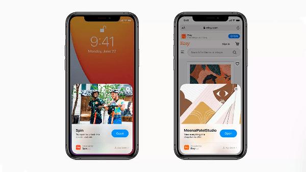 iOS 14 utilizzerà una parte di un'app, senza dover prima installarla foto su come acquistare su app clip