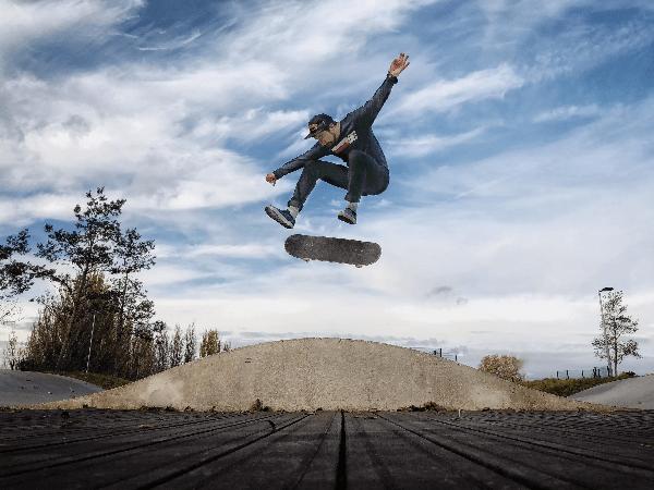 sport di azione e fotografia professionale da smartphone. Un connubio perfetto.