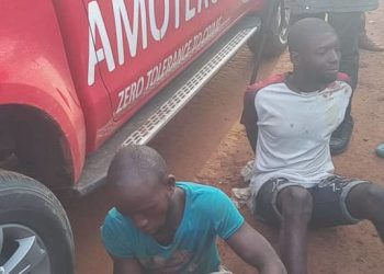 Amotekun Arrests Two Female Pants Thieves In Osun