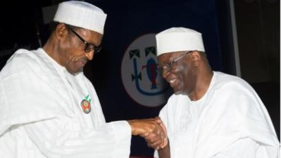 BREAKING: Buhari unveils Gambari as new Chief of Staff