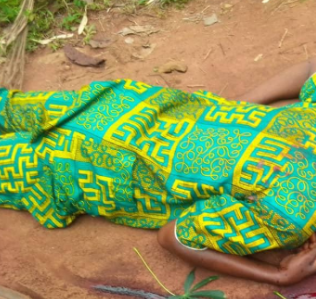 Horror As 55-Yr-Old Nigerian Is Hacked To Death By Unknown Persons (GRAPHIC PHOTOS)