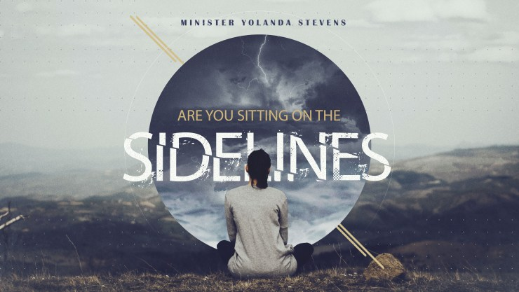 Are you sitting on the sidelines? Image