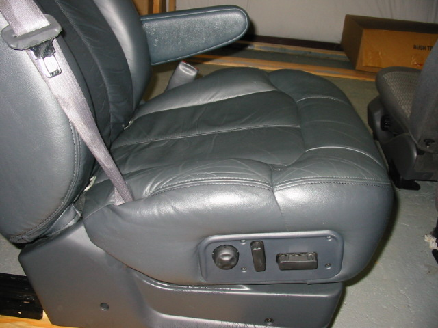 2002 Chevy Silverado Leather Seat Covers