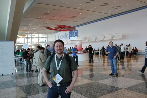 Magnus Lindgren registrerad på Google IO 2012