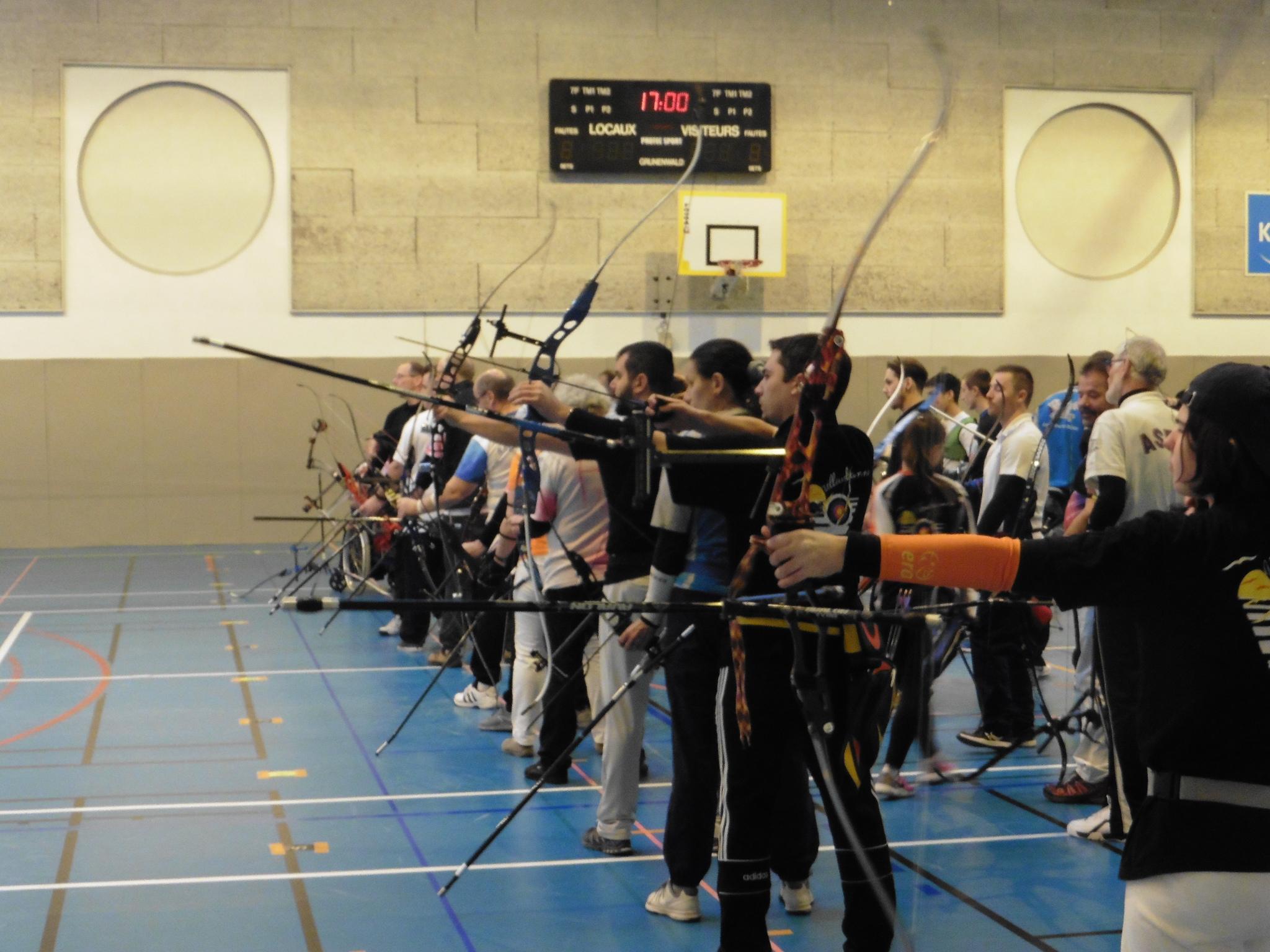 CHASSIEU   186 archers ce week-end au concours en salle de tir à l'arc