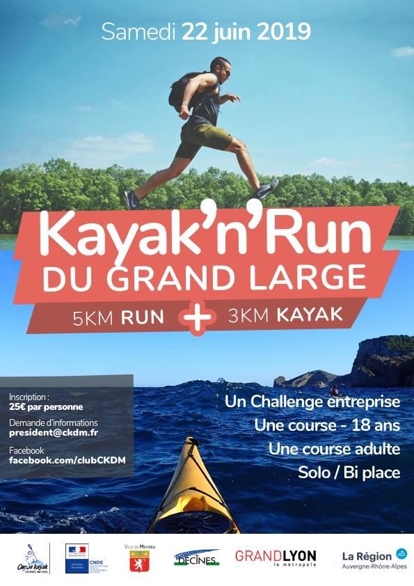 DECINES-MEYZIEU | Un Kayak Run avec le C.K.D.M.