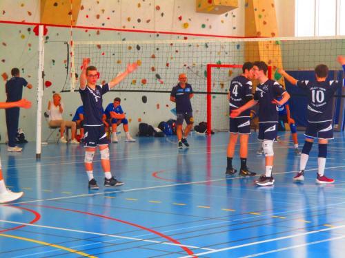 BRON   Vball hôte du 7° tour de Coupe de France M 15 de volley-ball