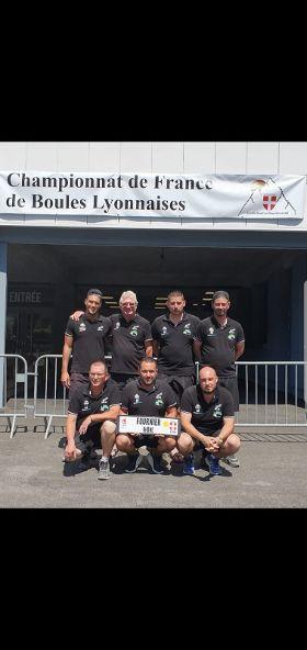 BRON | une quadrette bouliste demi-finaliste du championnat de France