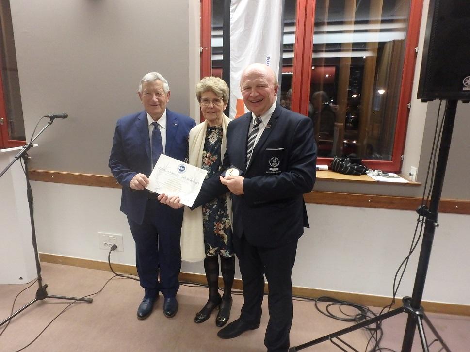 VILLEURBANNE | Deux dirigeants honorés à l'Office du Sport