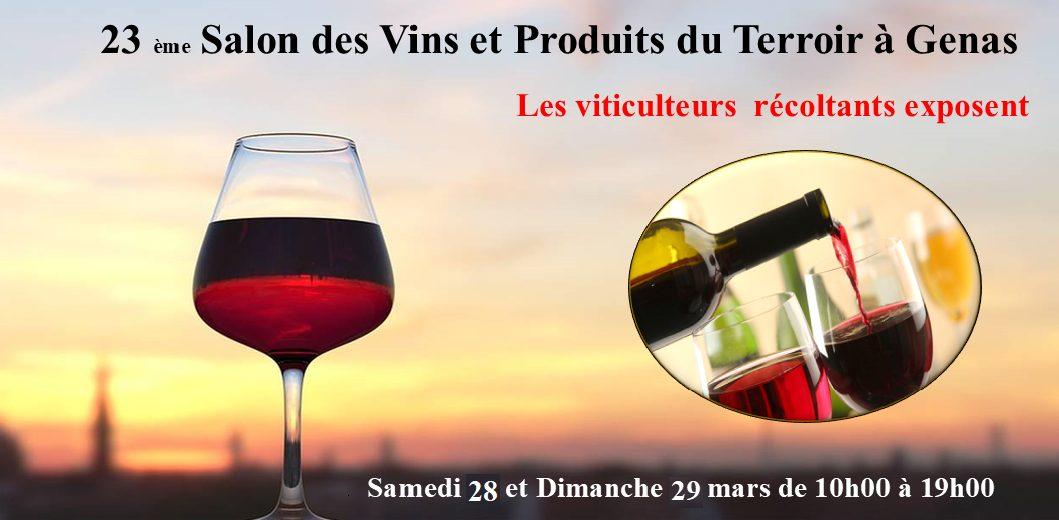 GENAS | Annulation du Salon des Vins