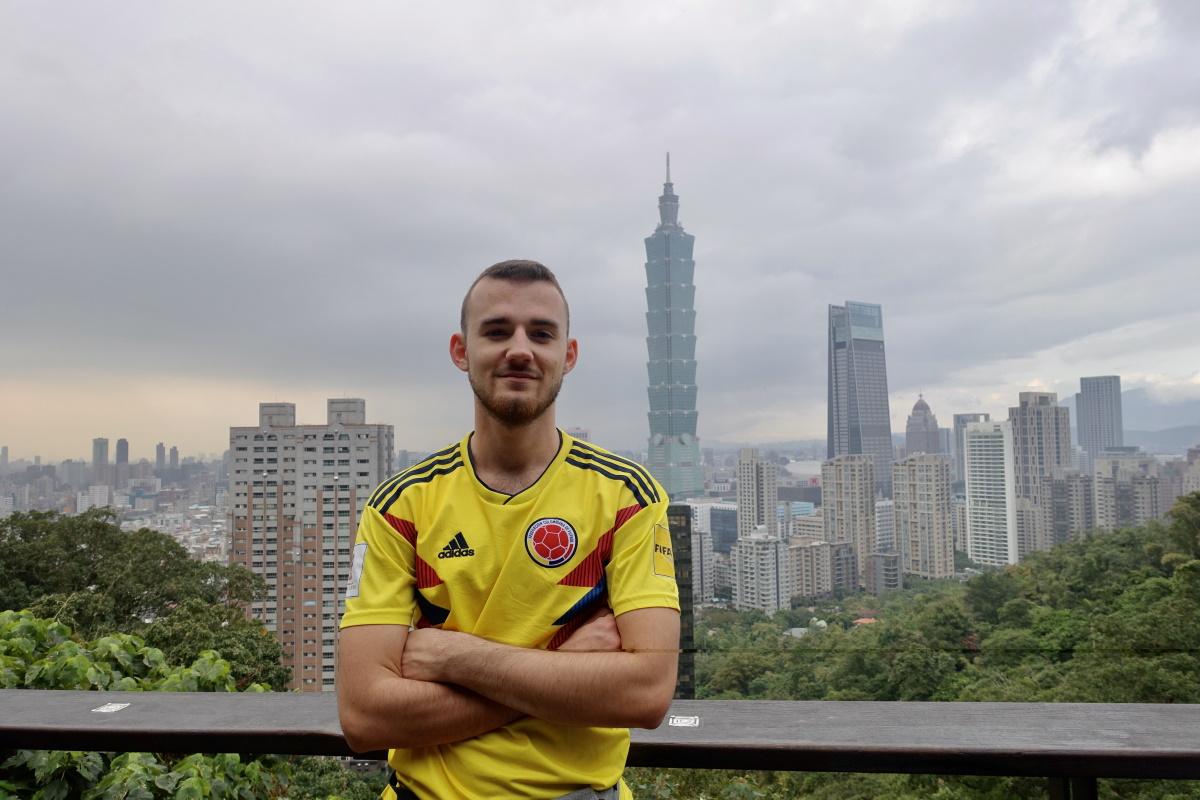 Dorian Jorry à Taïwan «nous ne sommes pour le moment pas confinés»