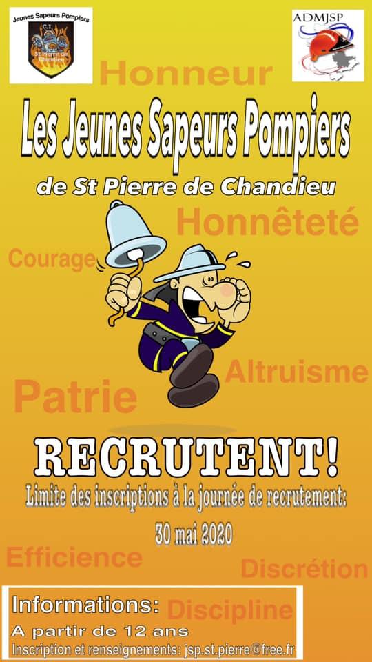 SAINT-PIERRE-DE-CHANDIEU | Les Jeunes Sapeurs Pompiers recrutent
