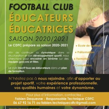 RECRUTEMENT CDFC EDUCATEURS