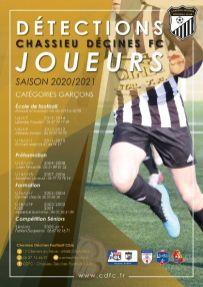 RECRUTEMENT CDFC JOUEURS