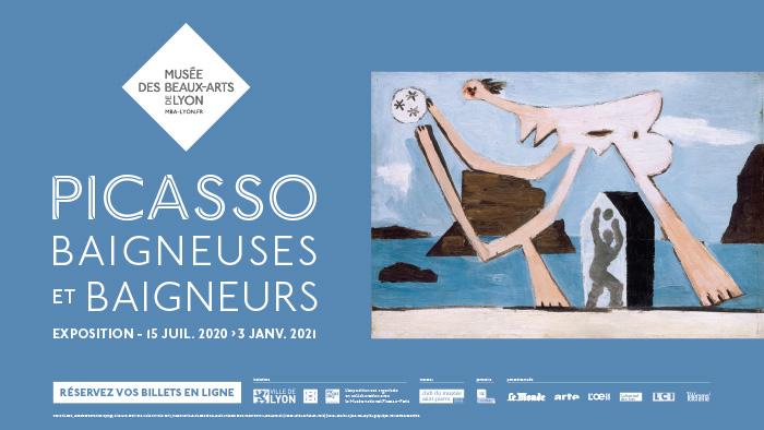 LYON | L'expo «Picasso, Baigneuses et baigneurs» a ouvert ses portes