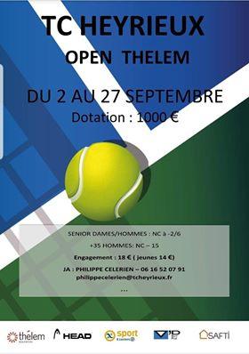 HEYRIEUX | Tournoi de tennis > les résultats de dimanche