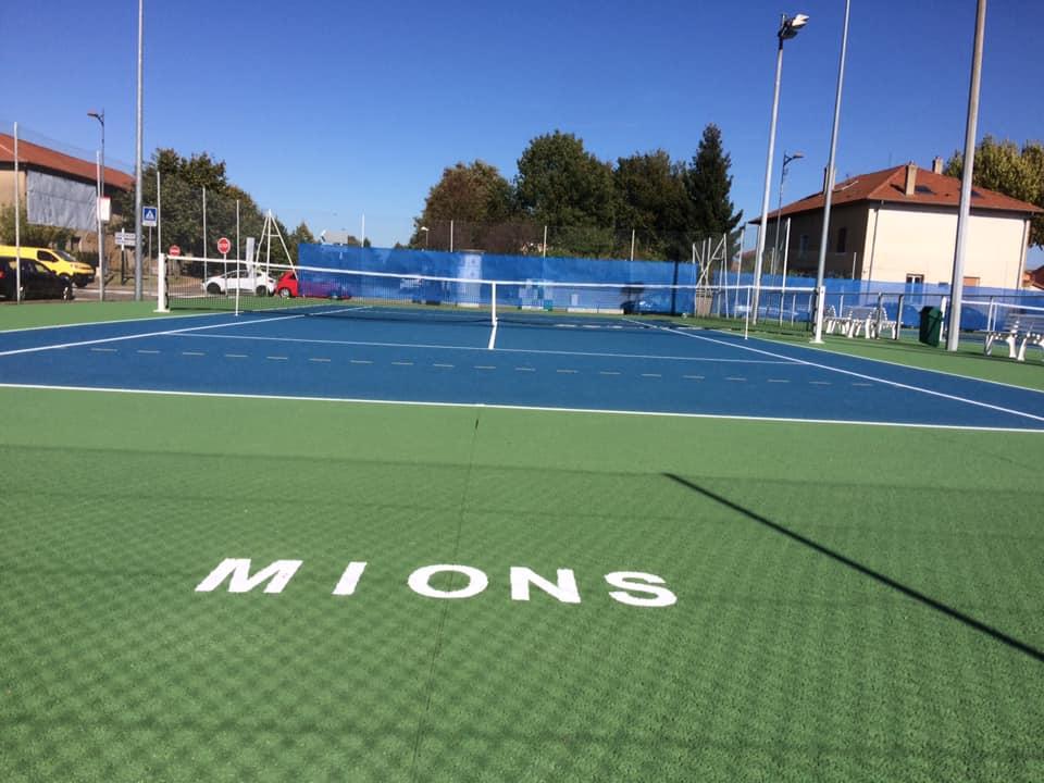 MIONS | Tournoi de tennis > les résultats de lundi