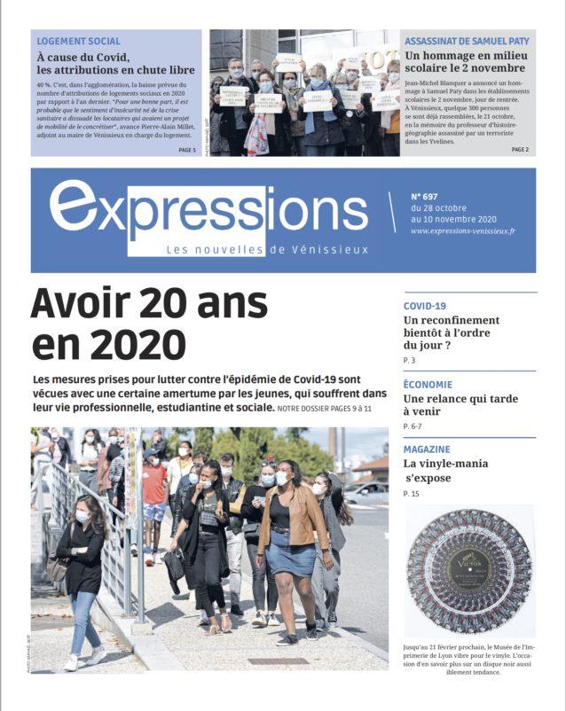 VENISSIEUX | Sortie du n° 697 du journal Expressions