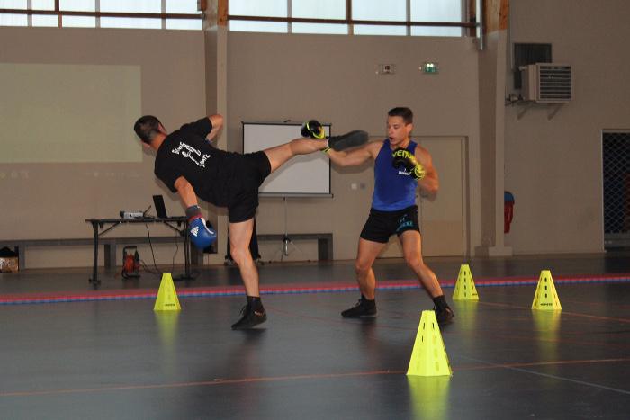 1 jour, 1 association   La Savate Boxe Française Genas