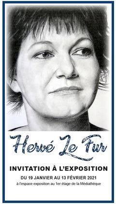DECINES | Exposition des dessins d'Hervé Le Fur